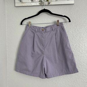 Ralph Lauren Vintage Lilac Parachute Shorts